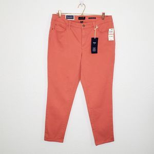 Charter Club Coral Bristol Skinny Ankle Jeans 12